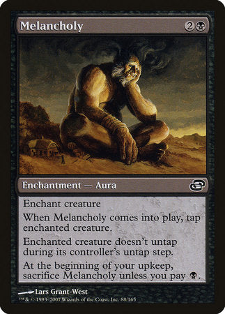 Melancholy [Planar Chaos] | Black Knight Games