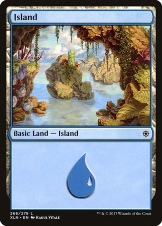 Island (266) [Ixalan] | Black Knight Games