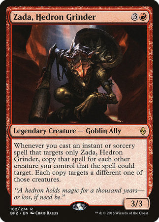 Zada, Hedron Grinder [Battle for Zendikar] | Black Knight Games
