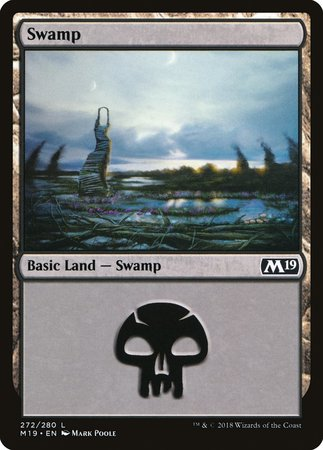 Swamp (272) [Core Set 2019] | Black Knight Games