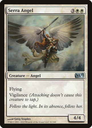 Serra Angel [Magic 2013] | Black Knight Games