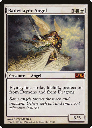 Baneslayer Angel [Magic 2011] | Black Knight Games