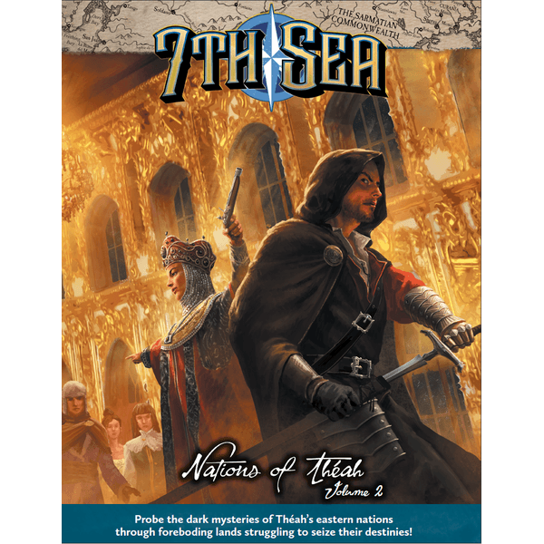 (PRE-PLAYED) 7th Sea 2E RPG: Nations of Theah V2 | Black Knight Games