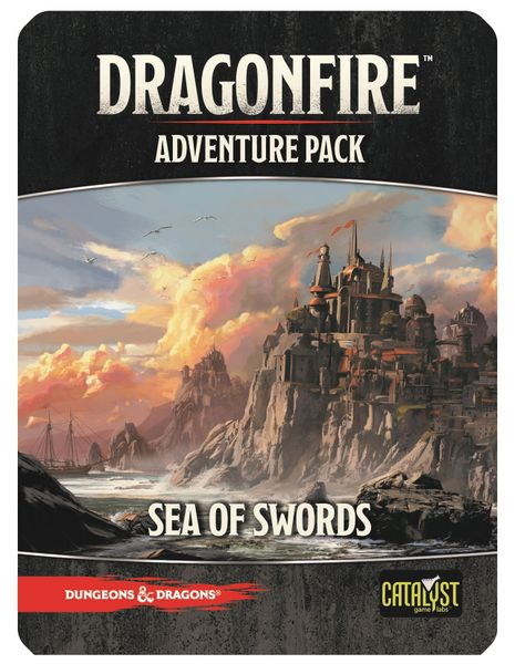 Dragonfire Adventure Pack - Sea of Swords | Black Knight Games