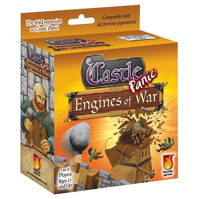 Castle Panic: Engines of War Expansion | Black Knight Games