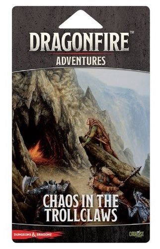 Dragonfire Adventure Pack - Chaos in the Trollclaws | Black Knight Games