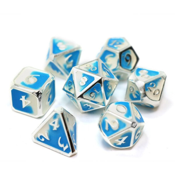 Metal Forge Dice Set - Polar Vortex | Black Knight Games