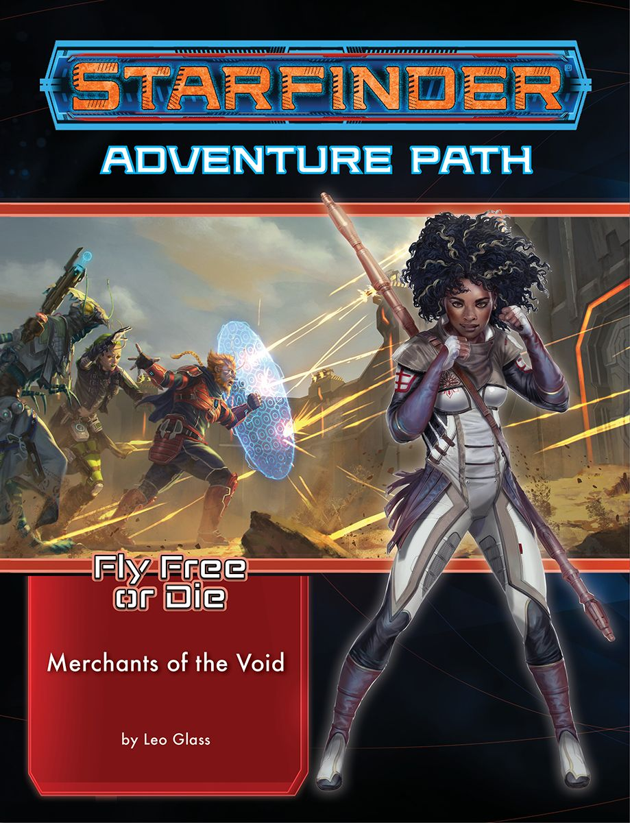 Starfinder: Fly Free or Die 2 - Merchants of The Void | Black Knight Games