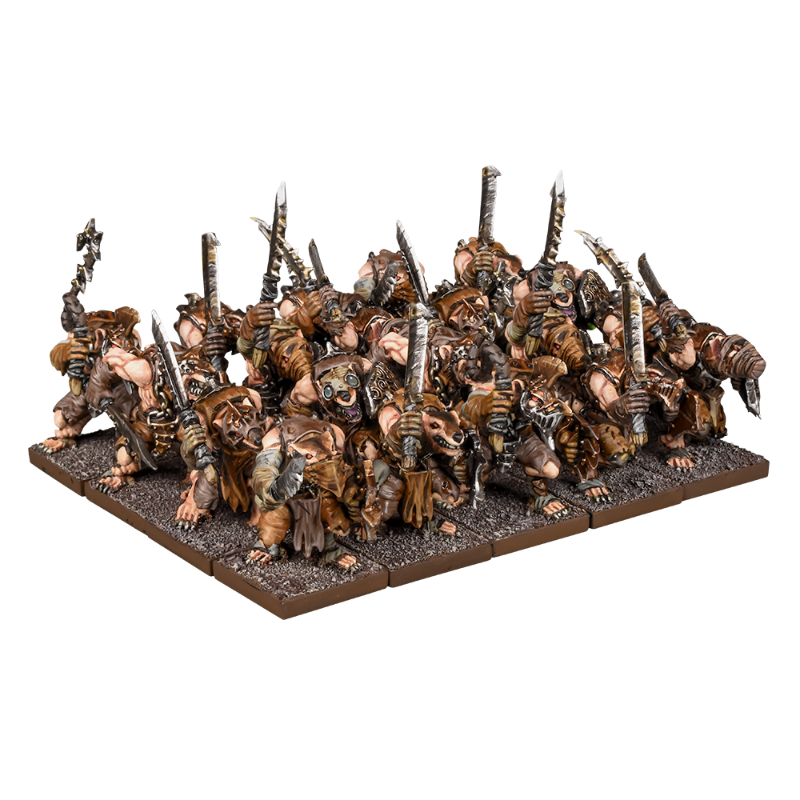 Ratkin Warriors Regiment | Black Knight Games