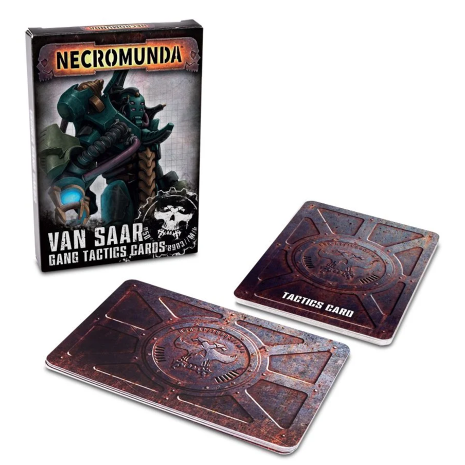 Van Saar Gang Tactics Cards | Black Knight Games