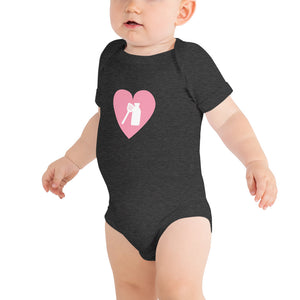 Open image in slideshow, Milk Jar Heart - Baby Onesie
