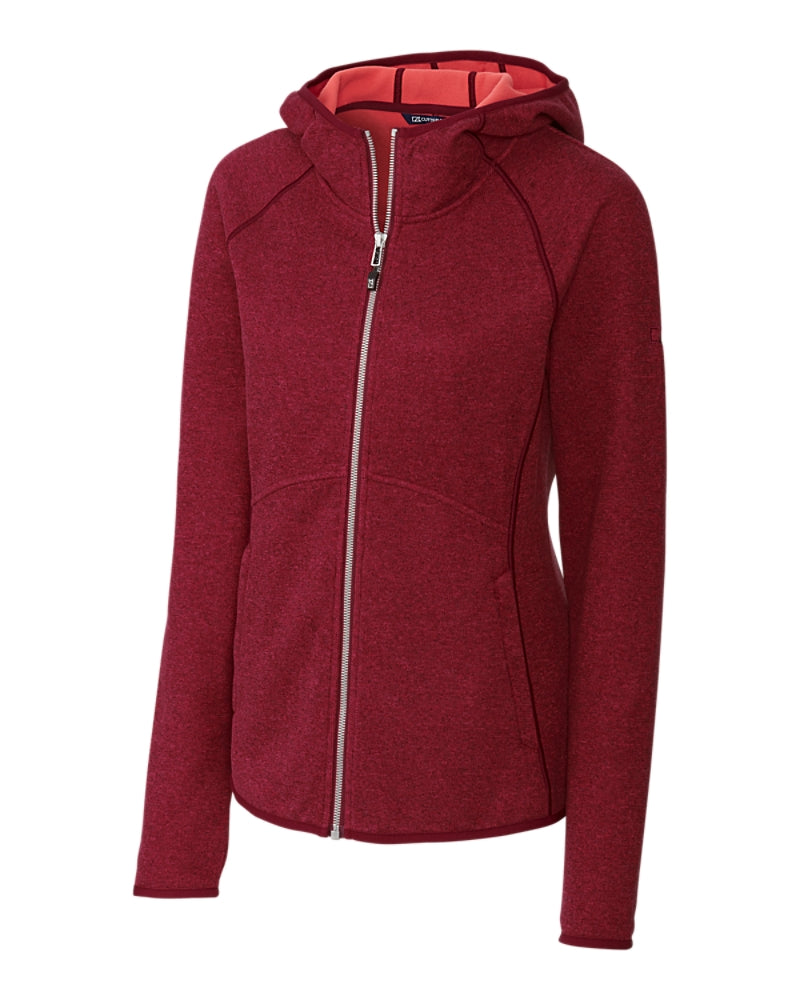 CUTTER AND BUCK LADIES' MAINSAIL HOODED JACKET