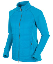 Load image into Gallery viewer, SUNICE WOMEN'S ELLA HYBRID LIGHTWEIGHT THERMAL STRETCH JACKET