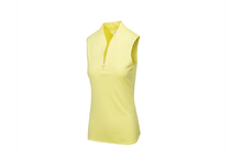 Load image into Gallery viewer, GREG NORMAN ML75 TRIPLE CROWN SLEEVELESS ZIP POLO