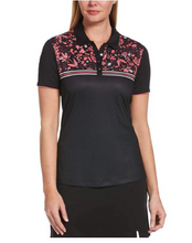 Load image into Gallery viewer, CALLAWAY FLORAL PRINT CHEST POLO