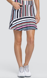 TAIL HONOUR SKORT- VARIEGATED STRIPE