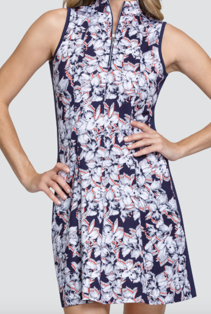 TAIL SANDRA DRESS- DOTTED FLORAL