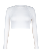 Load image into Gallery viewer, TAIL SASHA LAYERING TOP- WHITE
