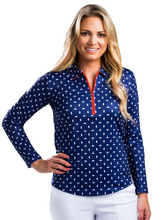 Load image into Gallery viewer, SANSOLEIL SOCOOL ZIP POLO- DEAUVILLE