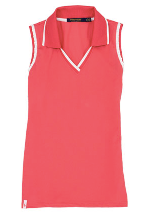 RALPH LAUREN LIGHTWEIGHT SLEEVELESS POLO