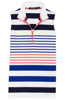 RALPH LAUREN COTTON LYCRA SLEEVELESS KNIT