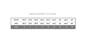 SWING CONTROL STRIPED MASTERS ANKLE