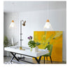suspension scandinave blanc et bois