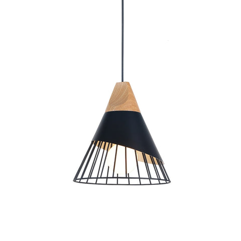 suspension scandinave noire
