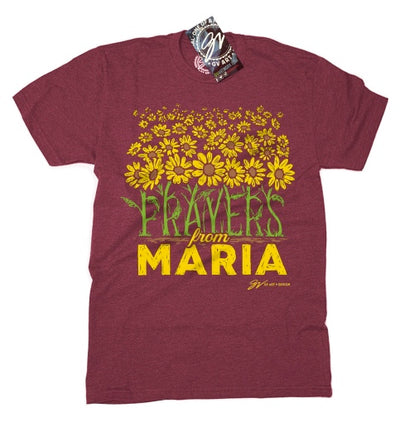 GV Art Prayers from Maria Maroon