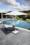 Shade - Parasol pied central 2x2m