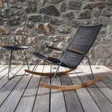 Noé - rocking chair - multicolore vert