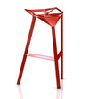 Stool One - Tabouret - Rouge