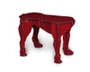 Rex - Tabouret - Rouge brillant