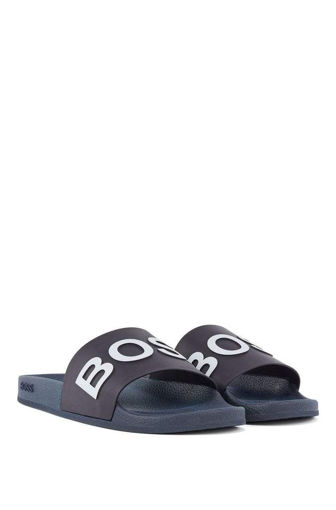 BOSS Bay_Slid Sliders 405 Dark Blue