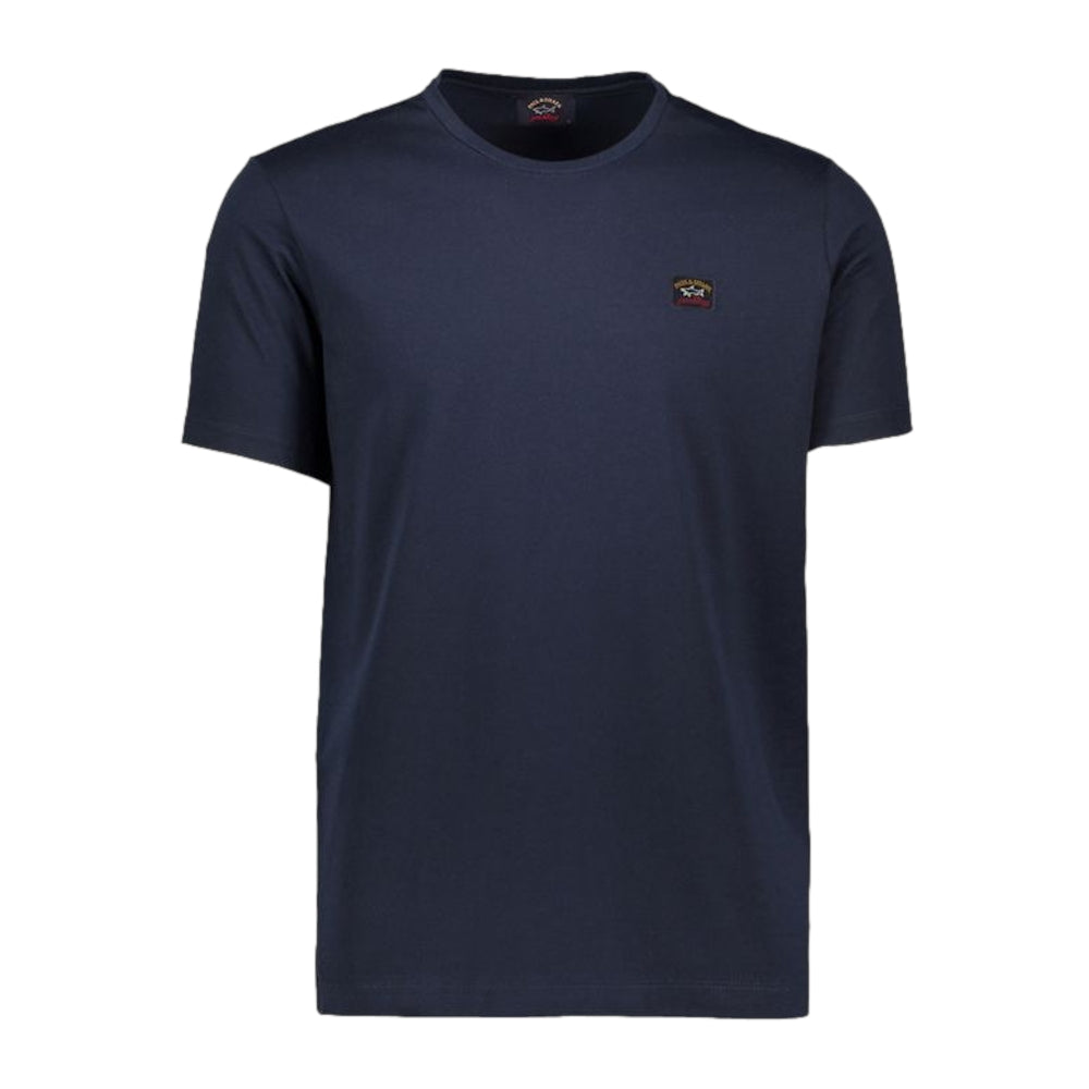 Paul & Shark Patch Logo T-Shirt 13 Navy