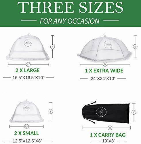Food Cover Tents 5 Pack