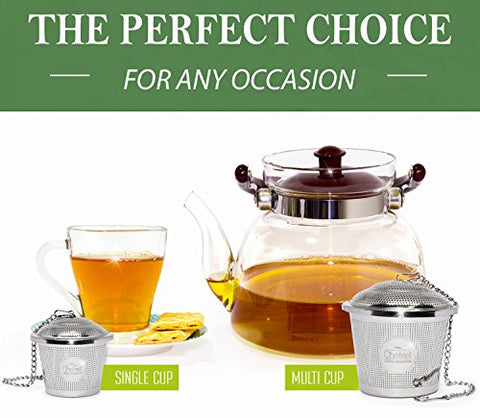 The Advantages Of Stainless Steel Loose Leaf Tea Infusers