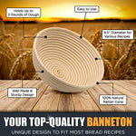 Banneton Proofing Basket by chefast