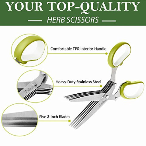 Wondering If 5 Blade Herb Scissors Can Help You?