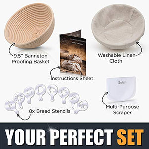Banneton Proofing Basket Set