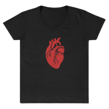 Load image into Gallery viewer, 'Heart Logo' Women's V-Neck