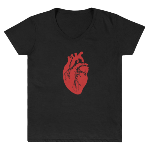 'Heart Logo' Women's V-Neck