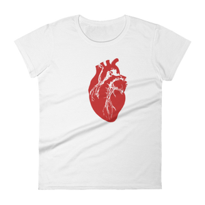 'Heart Logo' Women's T-Shirt