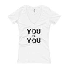 Load image into Gallery viewer, 'You VS. You' Women's V-Neck