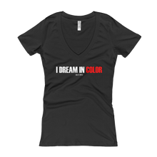 Load image into Gallery viewer, 'I Dream In Color' Women's V-Neck