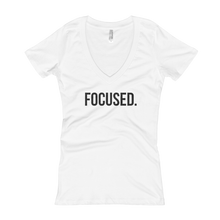 Load image into Gallery viewer, 'Focused' Women's V-Neck