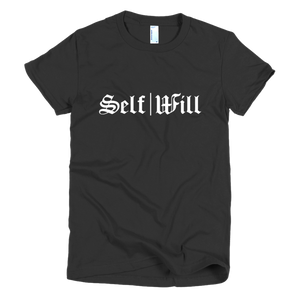 'Self|Will Logo' Women's T-Shirt