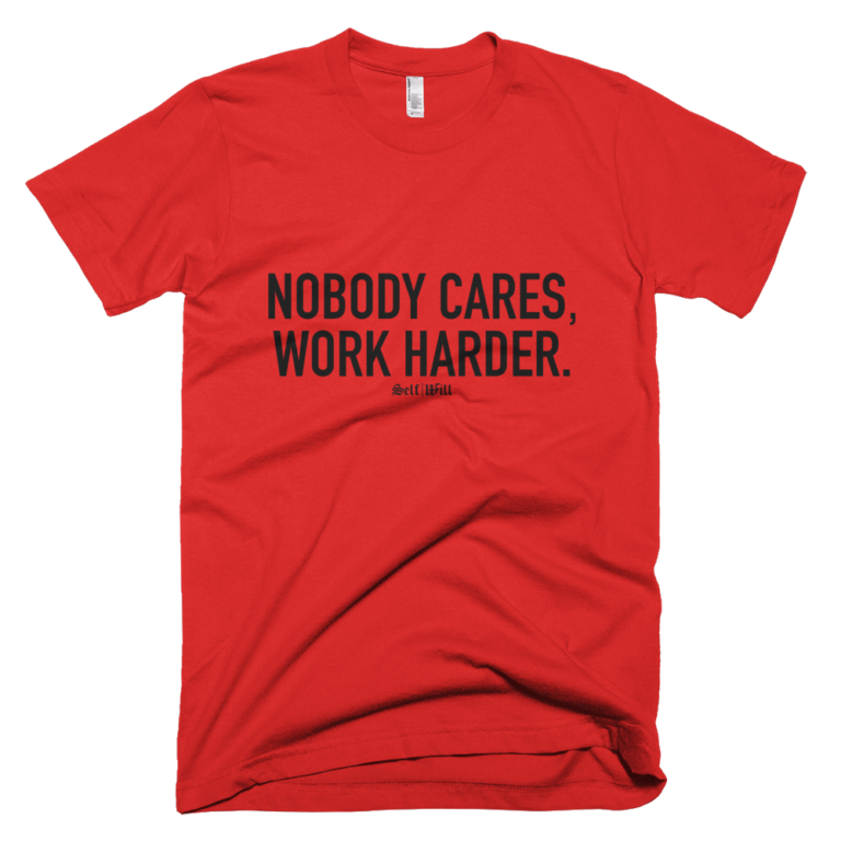 'Nobody Cares' Men's T-Shirt