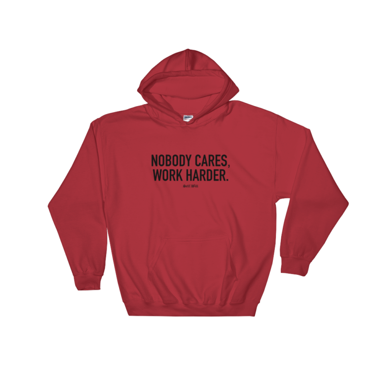 'Nobody Cares' Pullover Hoodie