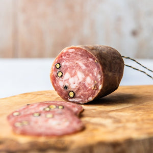 Sliced Black Pepper & Garlic Salami (Approx 60g)